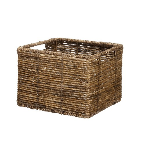 MidTone Small Milk Crate Dark Taupe - Threshold™ - image 1 of 1