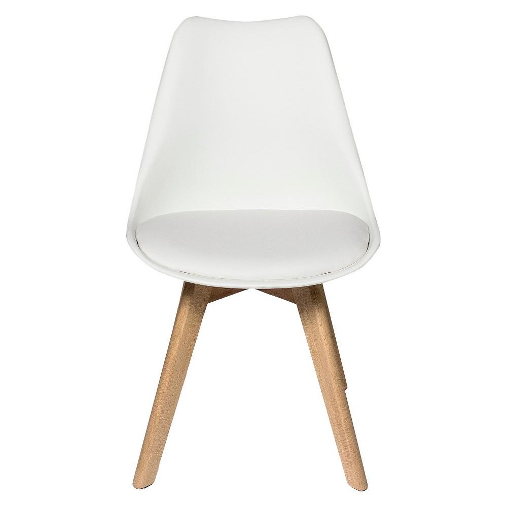 Celine Dining Chair - White (Set of 2) - Aeon