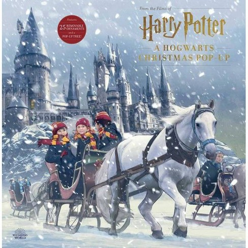 Harry Potter: A Hogwarts Christmas Pop-Up (Advent Calendar) - by  Insight Editions (Hardcover) - image 1 of 1