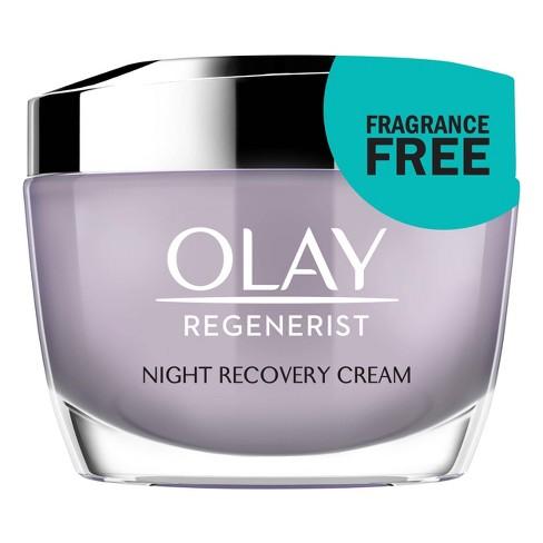 Olay Regenerist Night Recovery Cream - Unscented - 1.7oz - image 1 of 4