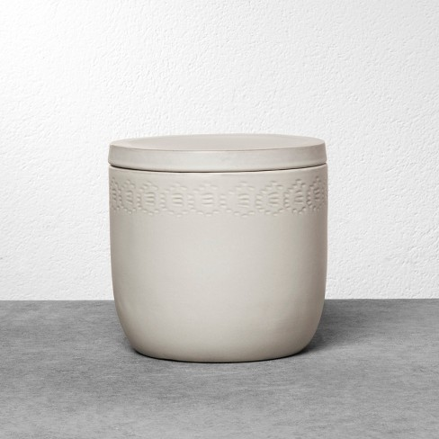 Stoneware Storage Canister - Hearth & Hand™ with Magnolia - image 1 of 4