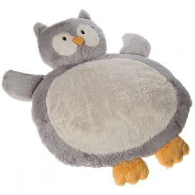 """Mary Meyer Infant Plush and Soft 31"""" Owl Shaped Baby Mat"""