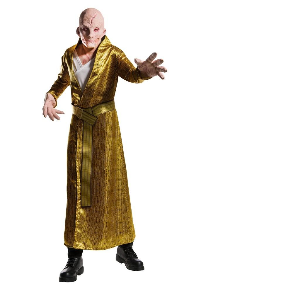 Image of Halloween Star Wars Episode VIII - The Last Jedi Deluxe Men's Supreme Leader Snoke Costume L, Size: Small, MultiColored