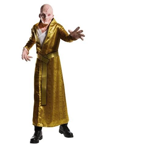 Star Wars Episode Viii The Last Jedi Deluxe Men S Supreme Leader Snoke Costume L Target
