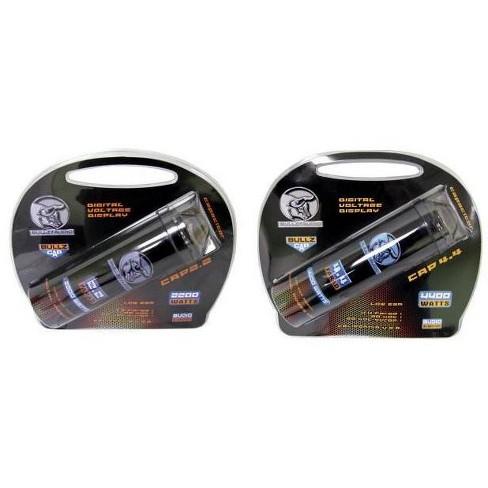 BULLZ AUDIO BCAP 2.2 Farad Car Audio Digital Power Capacitor & BCAP 4.4 Capacitor - image 1 of 4