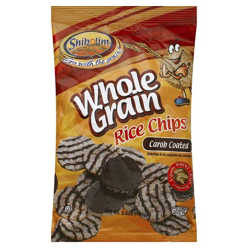 Shibolim Whole Grain Carob Coated Rice Chips - 3.5 oz - image 1 of 1