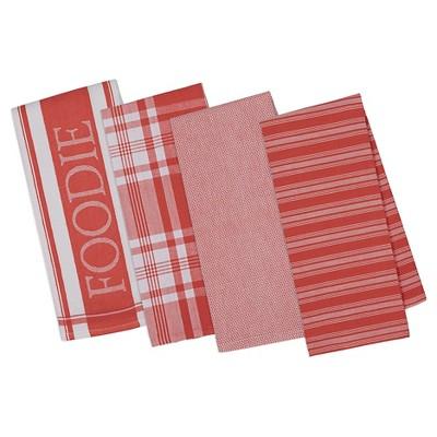 Tomato Bisque Gourmet Kitchen Dishtowels Set Of 4 - Design Imports