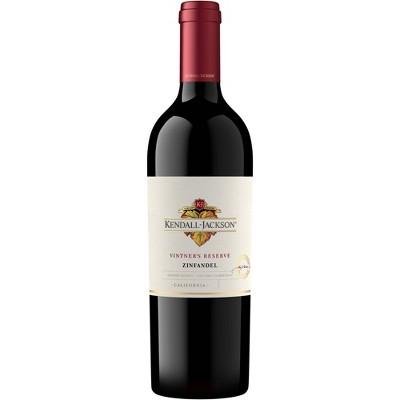 Kendall-Jackson Vintner's Reserve Zinfandel Red Wine - 750ml Bottle