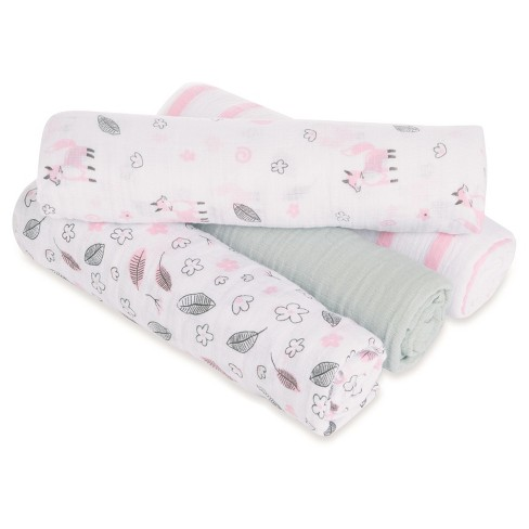 315a43f6d3618 Aden® By Aden + Anais® Swaddle - 4pk - Meadowfox   Target