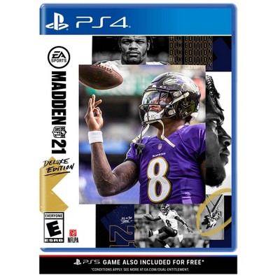 Madden NFL 21: Deluxe Edition - PlayStation 4/5