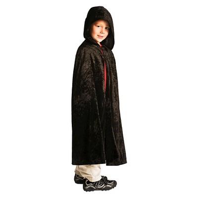 Little Adventures Boys' Cloak - Black S/M