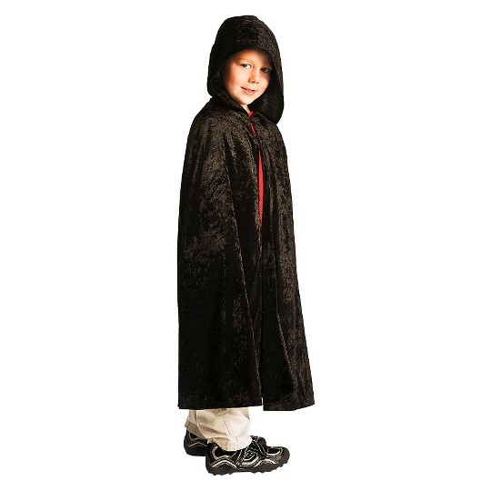 Little Adventures Boys' Cloak - Black S/M, Size: Small/Medium image number null