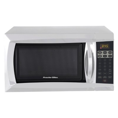 Procter Silex 0.6 Cu. Ft. 700 Watt Microwave Oven - White PS-P70B17A