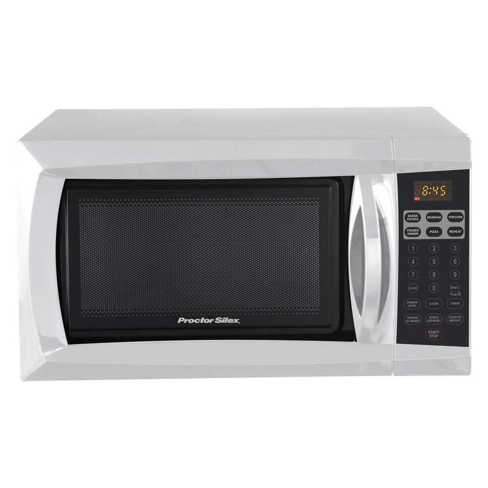 Procter Silex 0.6 Cu. Ft. 700 Watt Microwave Oven - White PS-P70B17A
