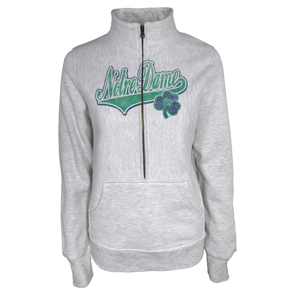 NCAANotre Dame Fighting Irish Women's Sweatshirt - Gray L