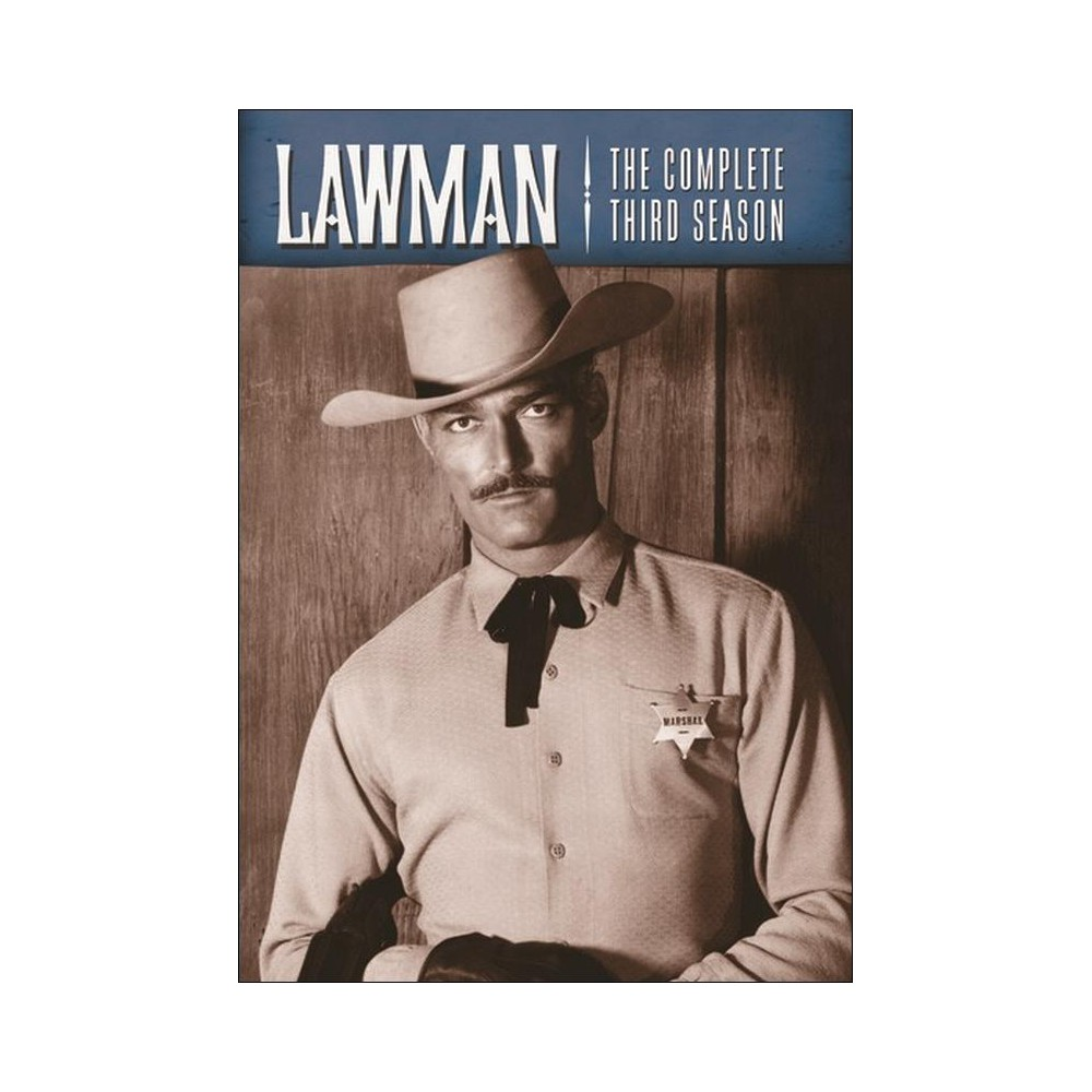 Lawman:Complete Third Season (Dvd)