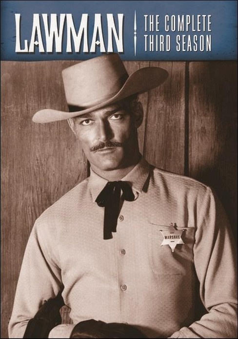 Lawman:Complete third season (DVD) - image 1 of 1