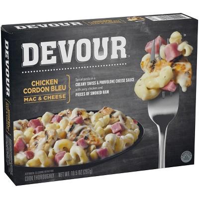 Devour Chicken Cordon bleu Frozen Mac & Cheese - 10.5oz