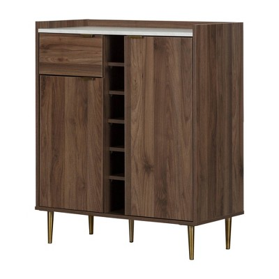 Hype 2-Door Buffet Server with Storage Walnut - South Shore