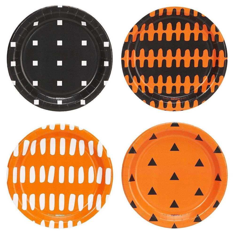 Image of 32ct Halloween Assorted Appetizer Plates