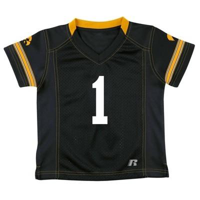 NCAA Iowa Hawkeyes Boy's Short Sleeve V-Neck Replica Jersey