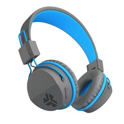 Kids JLab Neon Wireless On-Ear Headphones - Blue (HBNEONRBLU)
