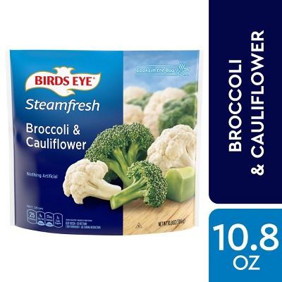 Birds Eye Steamfresh Frozen Broccoli & Cauliflower - 10.8oz