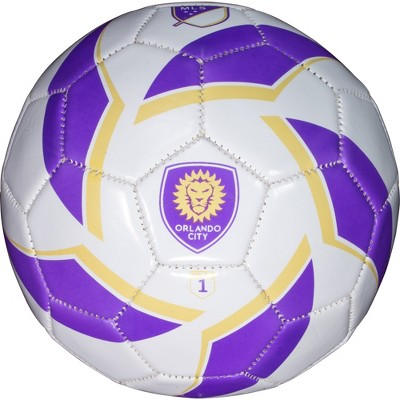 MLS Orlando City SC Mini Soccer Ball Size 1