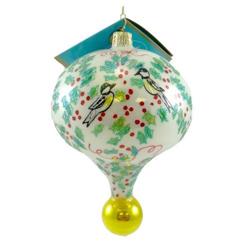 Christopher Radko Hollybeary Melody Ornament Drop Christmas Bird - image 1 of 1