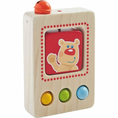 HABA Baby's First Phone Wooden Toy