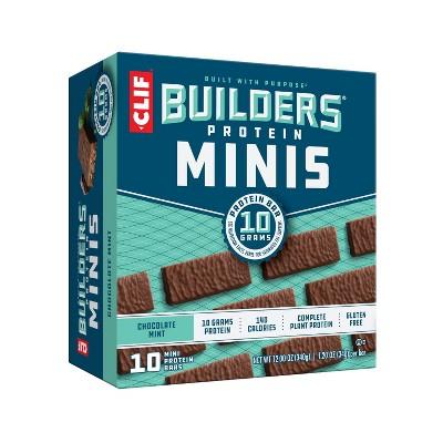 CLIF Builder's Chocolate Mint Mini Bars - 10pk