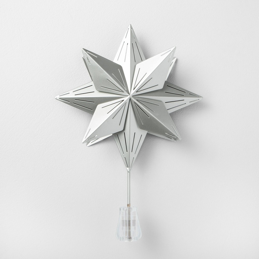 Image of Star Tree Topper Silver - Hearth & Hand with Magnolia