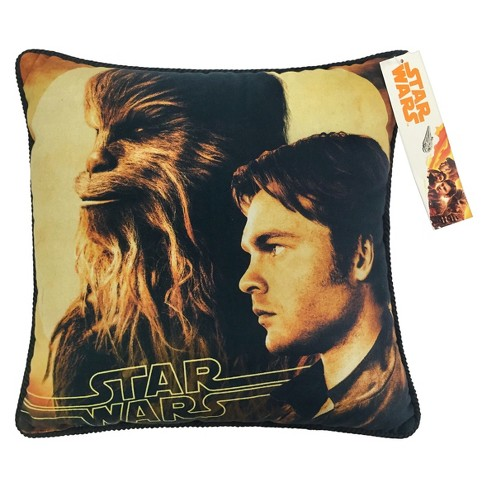 """Solo: A Star Wars Story 15""""x15"""" Kessel Throw Pillow Yellow - image 1 of 1"""