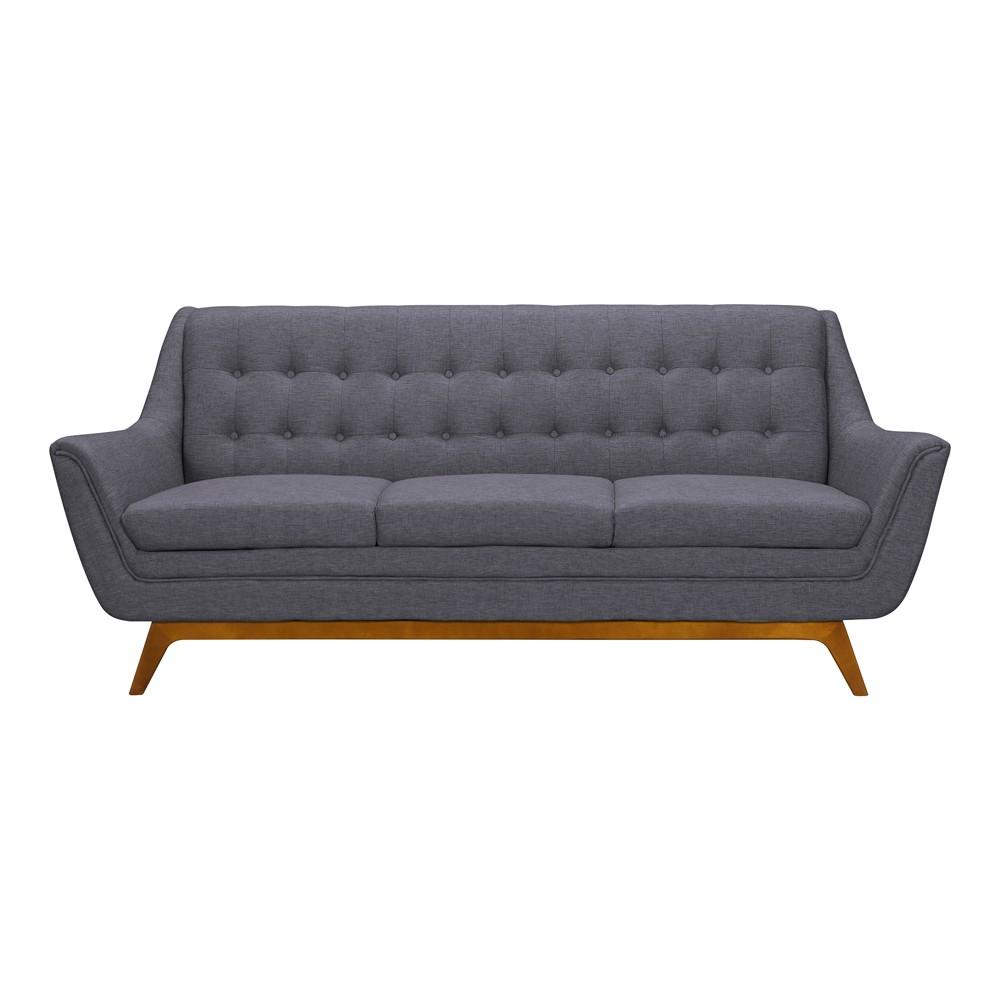 Janson Mid-Century Sofa Dark Gray - Armen Living