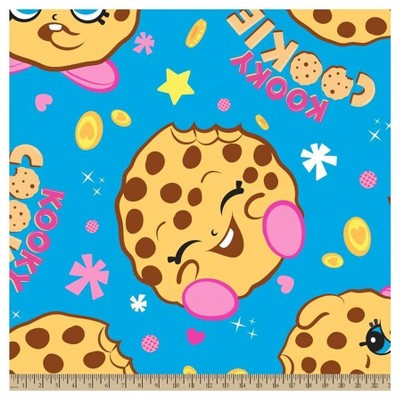 Kooky Cookie Fleece Fabric by the Yard