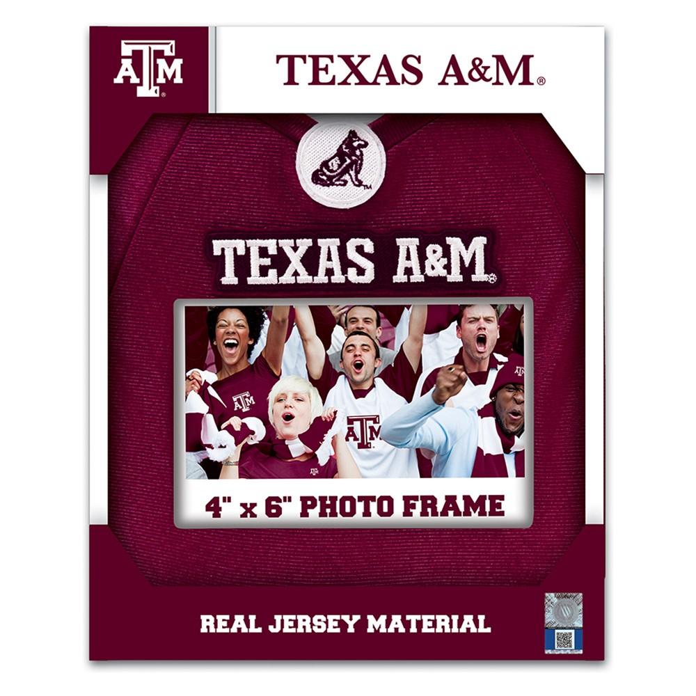 Texas A&m Aggies Jersey Frame 4'x6'