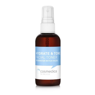 Cosmedica Skincare Rosewater and Witch Hazel Toner - 4 fl oz