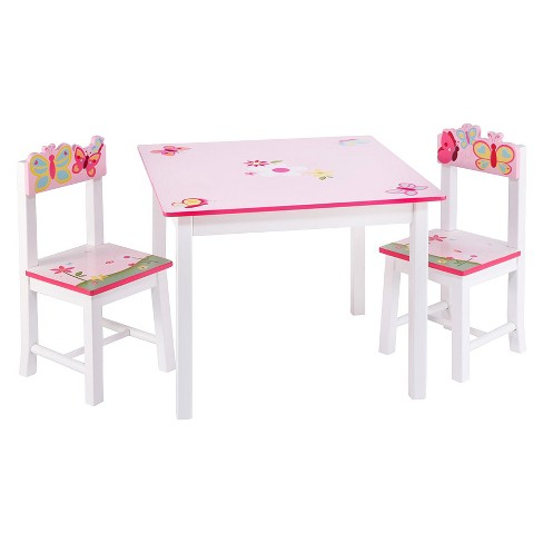 Guidecraft Butterfly Buddies Table And Chairs Target