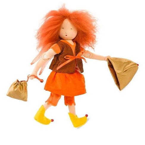 Magic Cabin Autumn Fairy Doll Tweela Woodfee Target