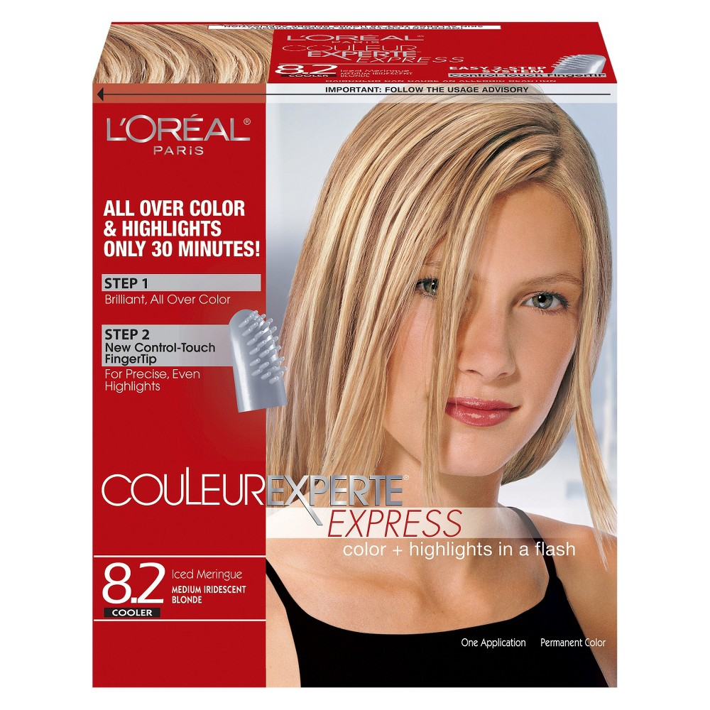 Image of L'Oréal Paris Couleur Experte All Over Hair Color and Highlights - 8.2 Iced Meringue