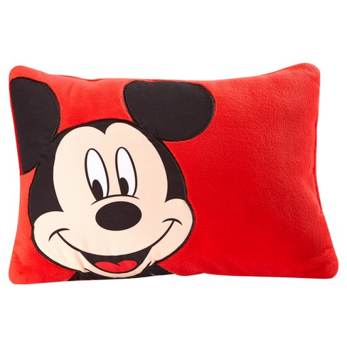 """Mickey Mouse Red Throw Pillow (16""""x12"""") - image 1 of 3"""