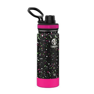 Takeya 18oz Actives Stainless Steel Insulated Water Bottle with Spout Lid