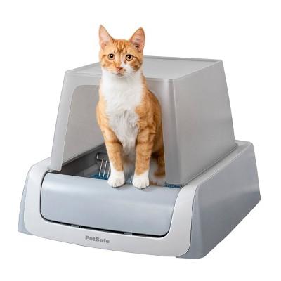 PetSafe ScoopFree Self-Cleaning Cat Litter Box - White