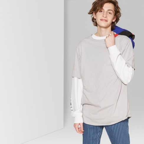 Men's Short Sleeve Curve Hem Crew T-Shirt - Original Use™ Masonry Gray XS - image 1 of 3