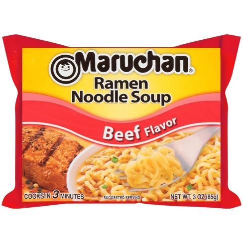 Maruchan Ramen Noodle Soup Beef Flavor 3oz - image 1 of 3