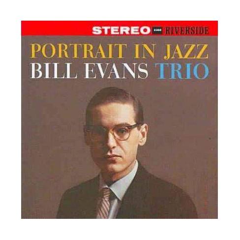 Bill (Piano) Evans - Portrait in Jazz (Riverside Bonus Tracks) (Remaster) (CD) - image 1 of 1