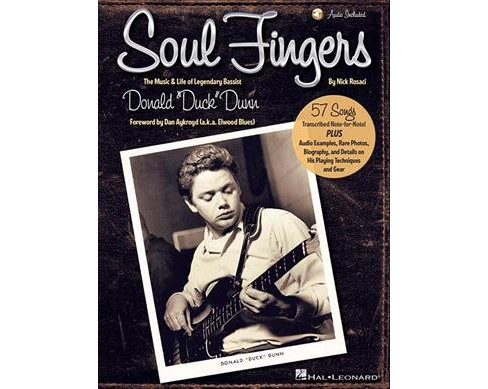 "Soul Fingers : The Music & Life of Legendary Bassist Donald ""Duck"" Dunn -  by Nick Rosaci (Paperback) - image 1 of 1"