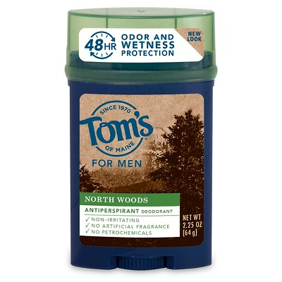 Deodorant: Tom's of Maine Men's Antiperspirant Deodorant