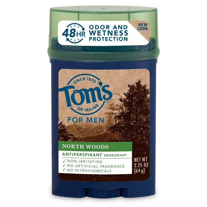Tom's of Maine North Woods Natural Antiperspirant Stick - 2.25oz - image 1 of 1