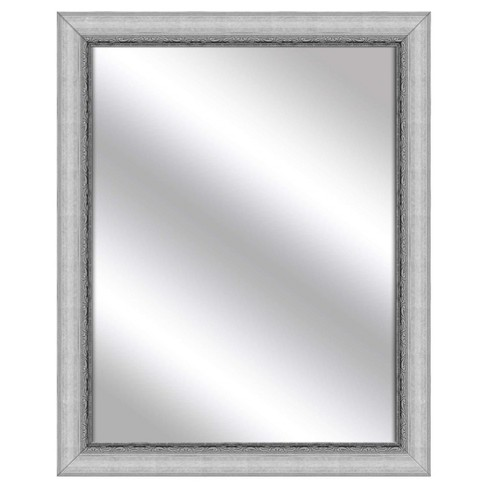 Decorative Wall Mirror PTM Images Silver - image 1 of 1